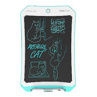 8,5 inch LCD tekentafel, slimme handgeschilderde bord voor kinderen graffiti schrijven (Blauw + wit)