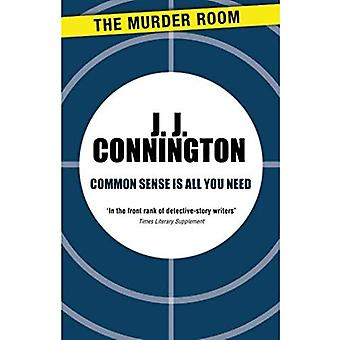 Common Sense Is All You Need (Murder Room)