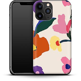 Handbemalte Blüten durch abtrierbare Designs Smartphone Premium Case Apple iPhone 12 Mini