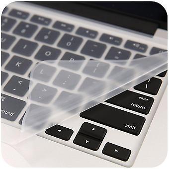 2шт клавиатура протекторы ноутбук клавиатура крышка 15.6 17 14 крышка клавиатуры ноутбука пылезащитная пленка силиконовая