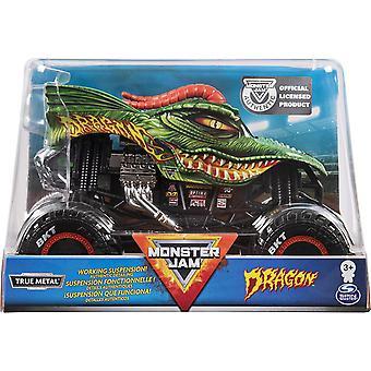 Monster Jam 1:24 Die Cast Truck - Dragon