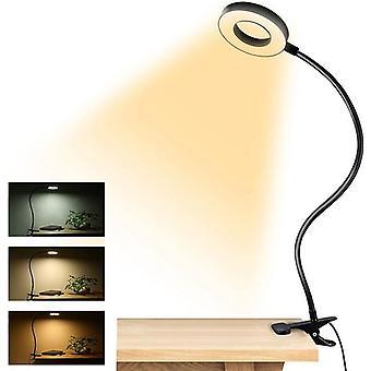 Clip-on Reading Lights 48 LED USB Desk Lamp