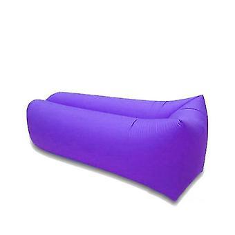 Outdoor luie opblaasbare sofa opblaasbare ligstoel slaapzak draagbare zachte ultralichte down strand