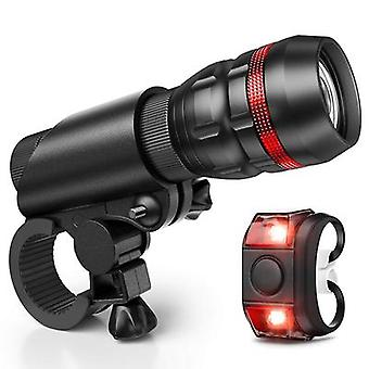 Bike Light Bicycle Light Installs In Seconds Without Tools Powerful Bike Headlight Compatible