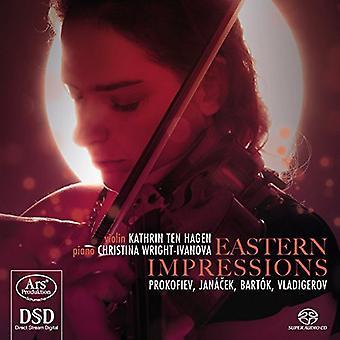 Prokofiev/Janacek/Bartok/Vladigerov - Eastern Impressions [SACD] USA import