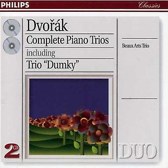 Beaux Arts Trio - Anton N Dvor K: Complete Piano Trios [CD] USA import