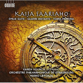 Saariaho / Vourch / Letonja - Quatre Instants [CD] USA import