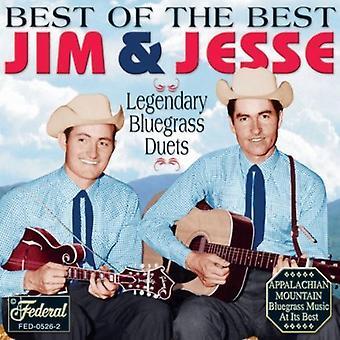 Jim & Jesse - Best of the Best [CD] USA import