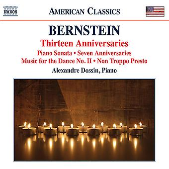 Bernstein / Dossin, Alexandre - Piano Music [CD] USA import