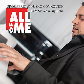 Peric, Uros / Goykovich, Dusko - All of Me [CD] USA import