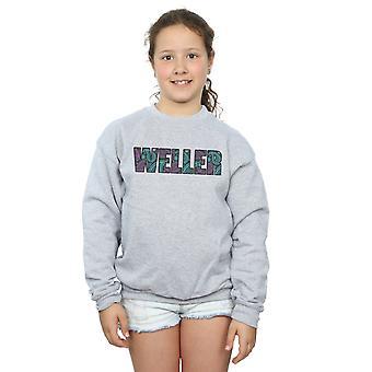 Paul Weller Girls Paisley Logo 1 Sweatshirt