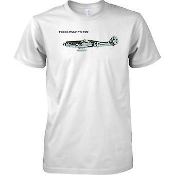 Luftwaffe Focke-Wulf FW190 - Kinder T Shirt
