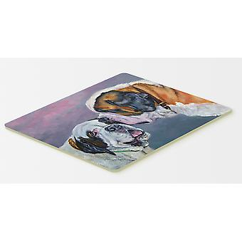 Carolines Treasures  7332CMT Saint Bernard Whisperear Kitchen or Bath Mat 20x30