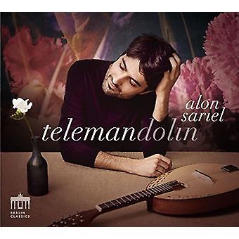 Telemann / Sariel / Foscari - Telemandolin [CD] USA import