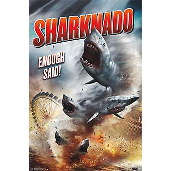 Sharknado - une seule feuille Poster Print
