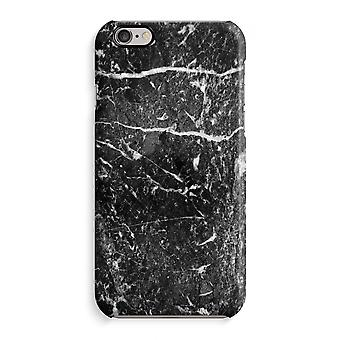 IPhone 6 6s sag 3D Case (blank)-sort marmor