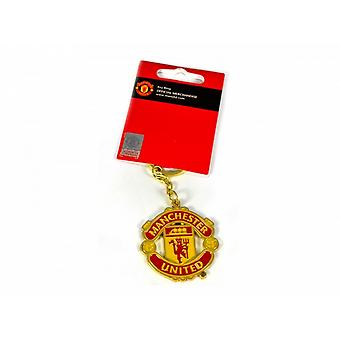 Manchester United FC Football officiel Crest Keyring