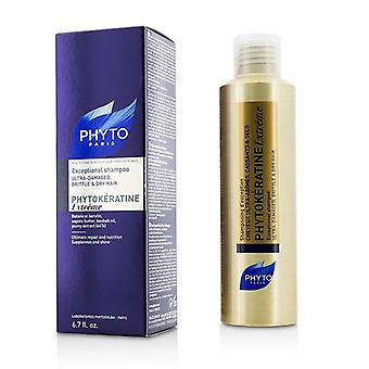 Phyto Phytokeratine Extreme Exceptional Shampoo (ultra-damaged Brittle & Dry Hair) - 200ml/6.7oz