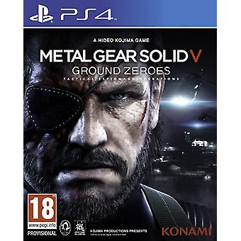 Metal Gear Solid V Ground Zeroes (PS4) - Comme neuf