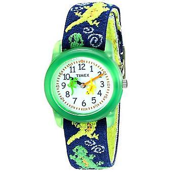 Timex barna Gekkoer strekk T72881 klokken