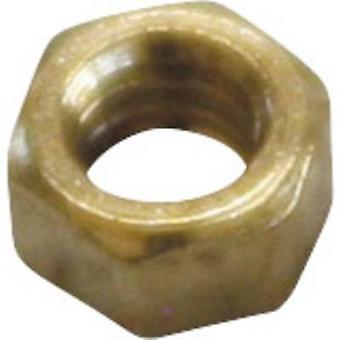 Sol Expert MM1.2 Brass Micro nuts (Ø) 3.5 mm 25 pc(s)