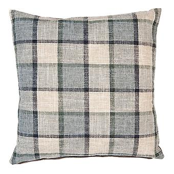 Clayre & EEF pillowcase pillowcase checkered cottage-style grey 45 x 45 cm