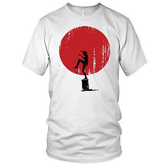 Karate Kid Crane Kick Mocie Inspired Mens T Shirt