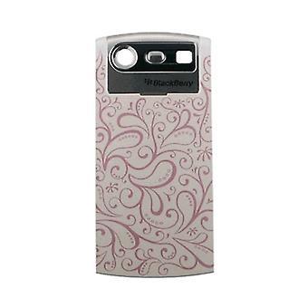 OEM BlackBerry Pearl 8110 8120 8130 batería estándar puerta - Floral