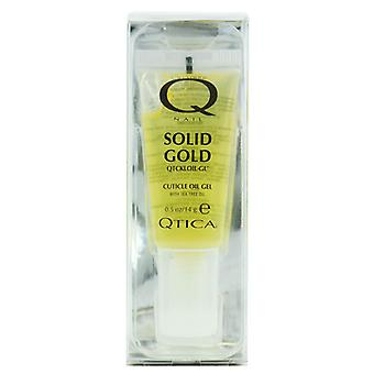 Ongles suppléments: Gel d'huile cuticule or Qtica solide (taille: 0,50 oz)