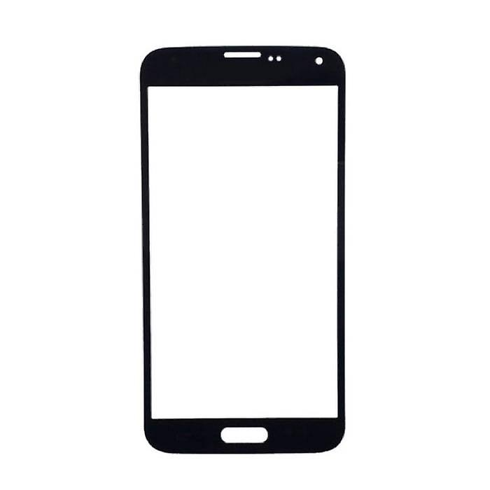 Stuff Certified ® Samsung Galaxy S5 i9600 AAA + Quality Front Glass - Black