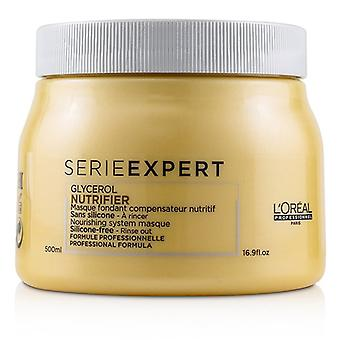L'oreal Professionnel Serie Expert - Nutrifier Glycerol Nourishing System Silicone-free Masque - 500ml/16.9oz