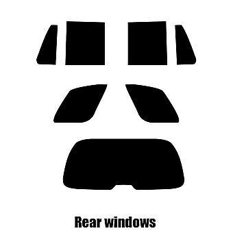 Pre cut window tint - Chevrolet Trailblazer - 2002 to 2006 - Rear windows