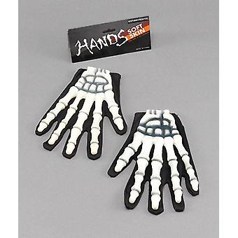 Bnov Gloves Skeleton/Rubber Fingers