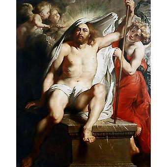 Christ Risen, Peter Paul Rubens, 50x40cm