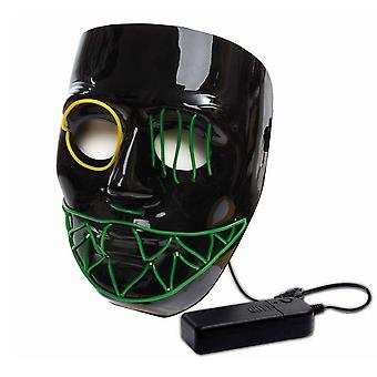LED Maske Halloween schedel skull masker verlichte masker