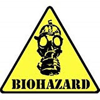 Biohazard Iron-On / naai-On geborduurde Patch