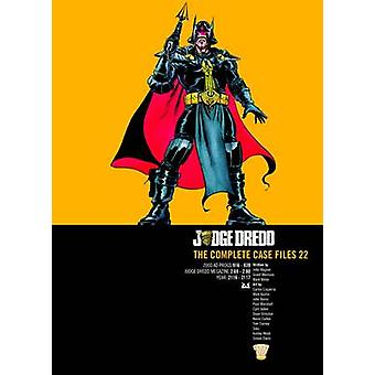 Döma Dredd - den kompletta mål filer - v. 22 av John Wagner - bevilja Mo