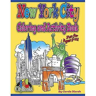 New York City Färbung und Aufgabenbuch