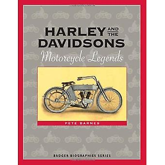 Harley and the Davidsons: Motorcycle Legends (Badger Biographies)
