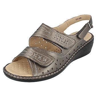 Ladies Eaze Strappy Sandals