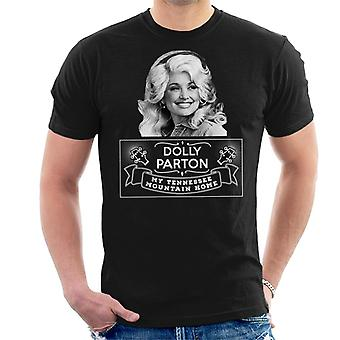 Dolly Parton Tennessee Mountain Home Miesten t-paita