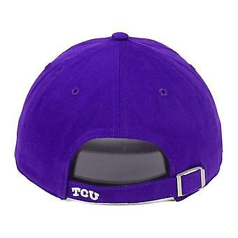 TCU Horned żaby NCAA 47 marki połysk na regulacją Hat