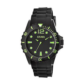 Ostra Crayo zegarek Unisex - zielony