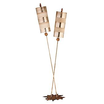 Ortie Luxe FB/NETTLELX-S/lampadaire argent - Elstead éclairage Fb / Nettlelx-S / FB/NETTLELX-S/FL