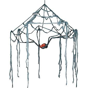 Canopy Web With Light Eyes. Webs And Cloth.