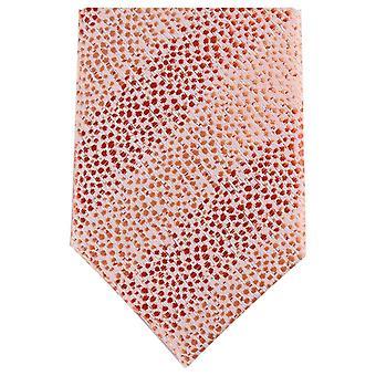 Knightsbridge Neckwear tonale Skinny Tie Polyester - rose/Light Pink