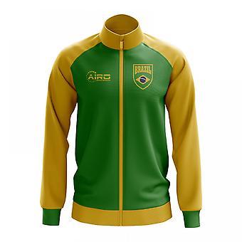 ברזיל המושג כדורגל המסלול מעיל (ירוק)