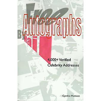 Kostenlose Autogramme per Post 4000 überprüft Celebrity Adressen von Mattison & Cynthia