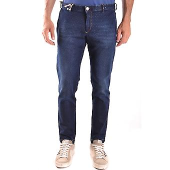 At.p.co Ezbc043003 Men's Blue Cotton Jeans