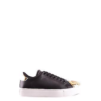 Pinko Ezbc056075 Kvinder's Sort Læder Sneakers
